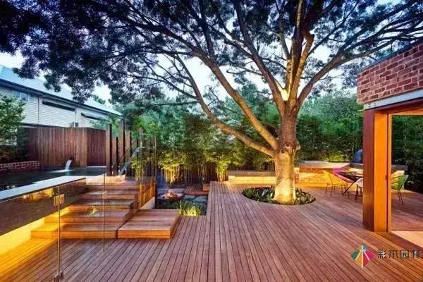 繁华都市寻一处清幽之地!彩木园林优雅、宁静的庭院设计