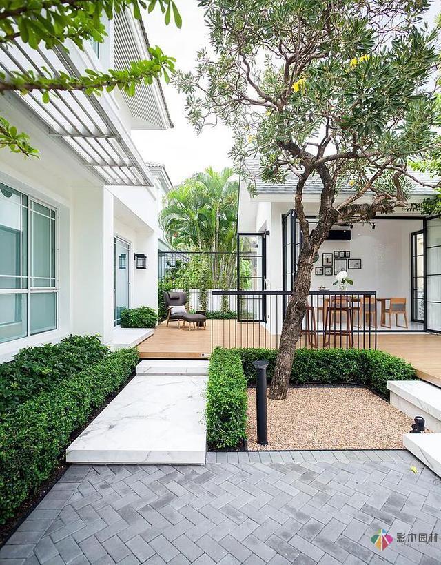现代花园设计的案例让你一见钟情的庭院设计