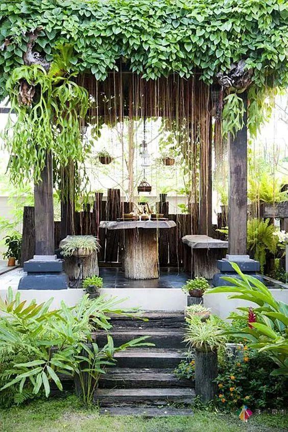 精美的中式花园设计,才能让人感受到心灵的温暖