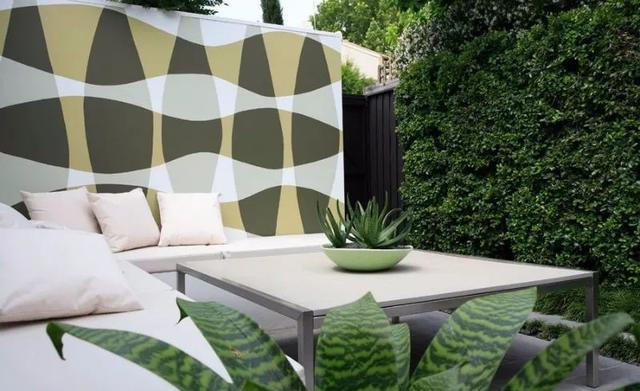 彩木   现代庭院设计,简约轻奢