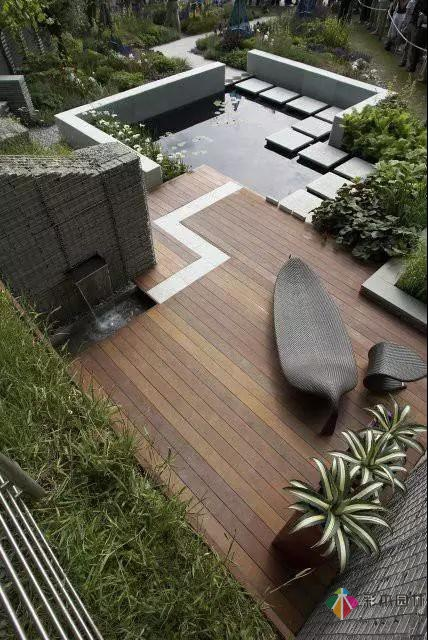 极简花园设计让人心驰神往!!!