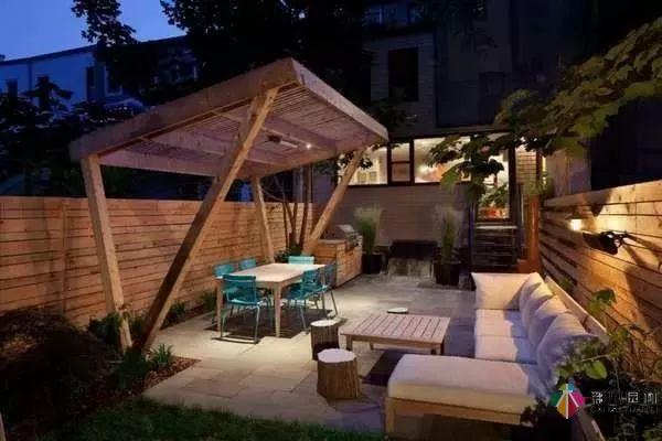 小花园设计该怎么弄?彩木园林来解答