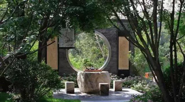塑造意境氛围在庭院园林景观设计