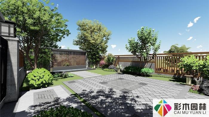 中式庭院景观设计中常用的植物有哪些?