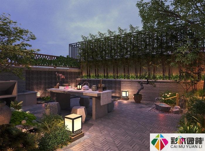 如何设计别墅庭院的大门围墙?