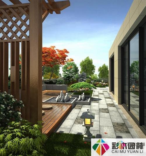 如何让小庭院成为一个大空间?