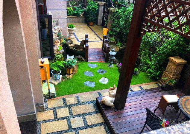 如何对别墅小庭院做精准的景观设计?小庭院巧妙的设计